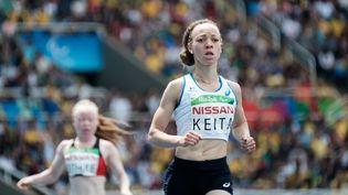 La Française Nantenin Keita, le 10 septembre 2016 à Rio (Brésil). (YASUYOSHI CHIBA / AFP)