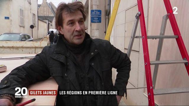 """""""Gilets jaunes"""" : les commerçants de Bourges se barricadent avant """"l'acte 9"""""""
