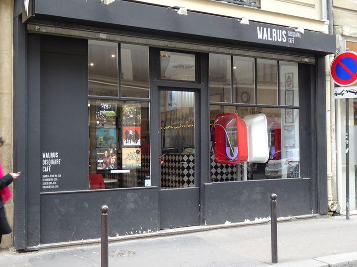 La façade du Walrus, rue de Dunkerque à Paris 10e.  (Laure Narlian/Culturebox)