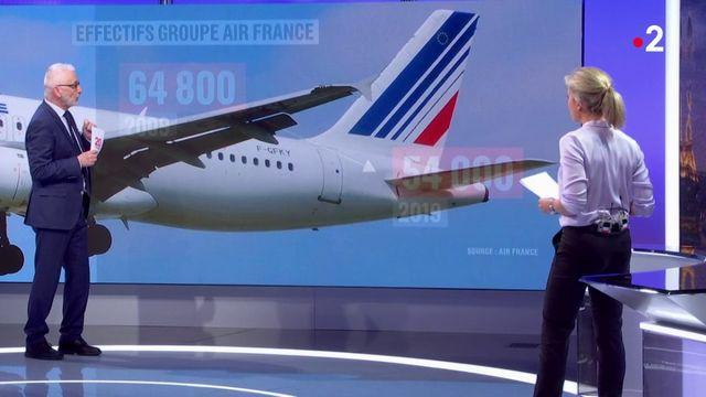 Transport : les effectifs au sol, cible de la direction d'Air France