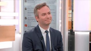 Jean-Baptiste Lemoyne, sénateurde l'Yonne, est l'invité de Djamel Mazi sur Franceinfo. (FRANCEINFO)