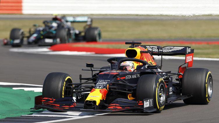 Max Verstappen (Red Bull). (ANDREW BOYERS / POOL)