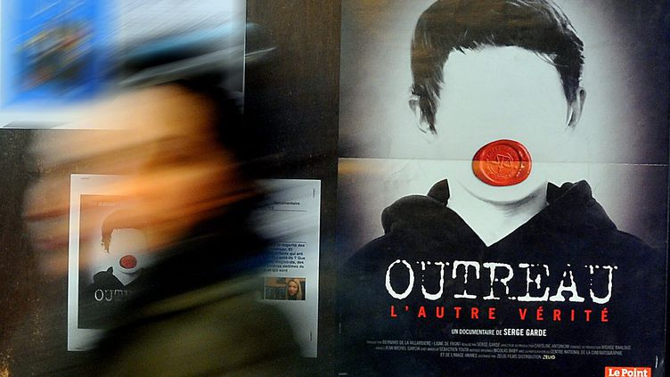 """Le documentaire de Serge Garde, """"Outreau, l'autre vérité"""", lors de sa sortie en salle, le 12 mars 2013. (MAXPPP)"""