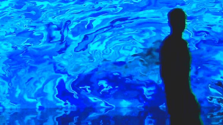 """""""Digital Abysses"""" de Miguel Chevalier à la Base sous-marine de Bordeaux  (Miguel Chevalier)"""