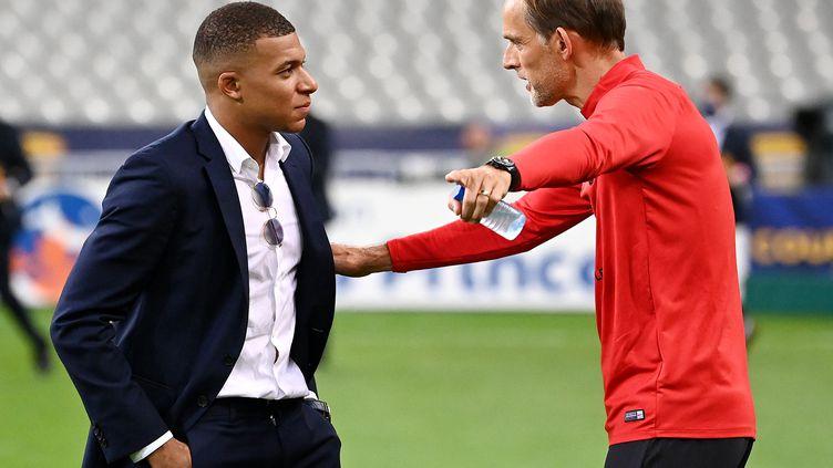 Mbappé, pas Mbappé ? Tuchel va devoir trancher. (FRANCK FIFE / AFP)