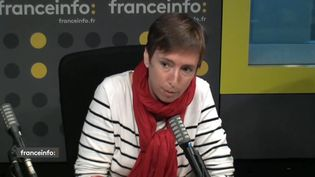 Caroline de Haas,fondatrice du site expertes.fr . (CAPTURE ECRAN / FRANCEINFO)
