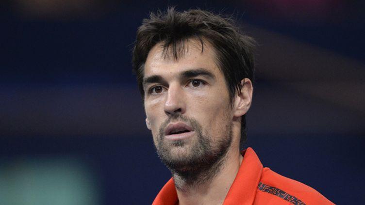 Le tennisman français Jérémy Chardy (MIGUEL MEDINA / AFP)