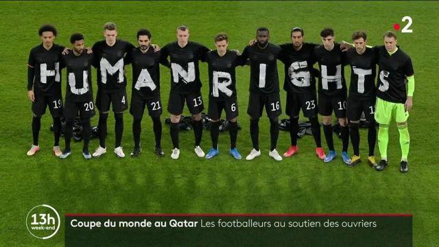Football : plusieurs équipes nationales au soutien des ouvriers du Qatar