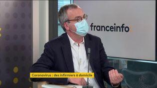 Thomas Fatome, Directeur général de l'Assurance maladie (FRANCEINFO/ RADIOFRANCE)