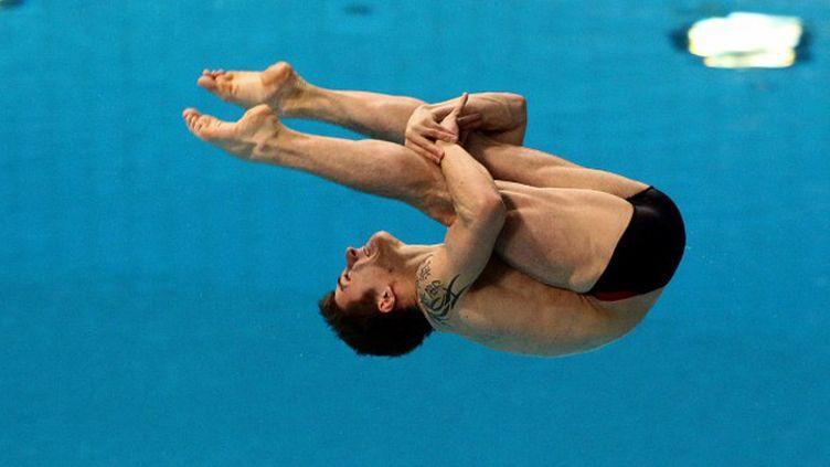 Le plongeur français Matthieu Rosset