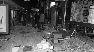 Deux bombes ont explosé presque en même temps dans deux pubs du centre ville deBirmingham en 1974. (BIRMINGHAM INQUESTS / HANDOUT / MAXPPP)