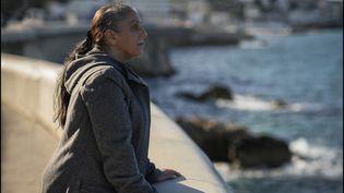 """Halima Benhamed joue le rôle principal du film """"Bonne mère"""" de Hafsia Herzi. (SBS PRODUCTIONS / COLLECTION CHRISTOPHEL VIA AFP)"""