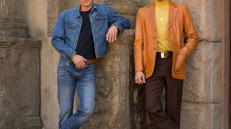 """Brad Pitt et Leonardo DiCaprio dans """"Once upon a time... In Hollywood"""" de Quentin Tarantino (2019) (SONY PICTURES RELEASING FRANCE / ALLOCINE)"""