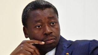 Le président togolais Faure Gnassingbe à Lomé le 28 avril 2015 (ISSOUF SANOGO / AFP)