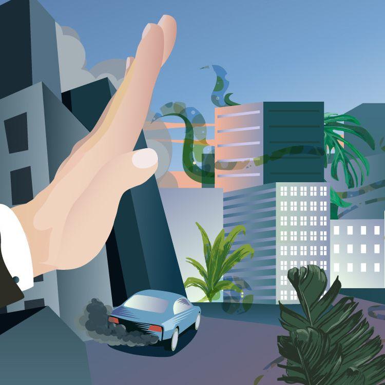Les nouveaux maires écologistes auronttout intérêt à bien s'entendre avecles métropoles,communautés urbaines ou d'agglomération,s'ils veulent porter leurs projets sans encombre. (BAPTISTE BOYER, AWA SANE / FRANCE INFO)