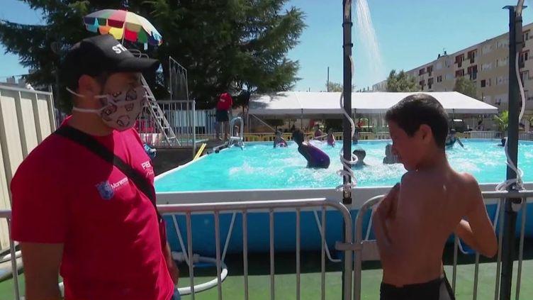 Coronavirus : des piscines sous surveillance (France 3)
