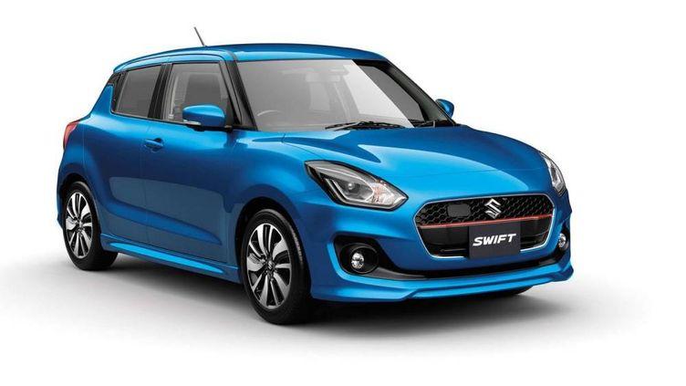 La Swift du japonais Suzuki 4e génération, arrive cet été en Europe. (CHITOSE SUZUKI/AP/SIPA / AP)