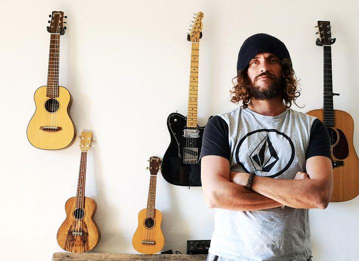 Un musicien globe-trotter (Sandy Lavallart)