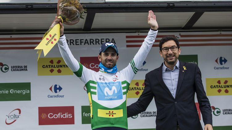 L'Espagnol de la Movistar, Alejandro Valverde, est éternel : à près de 38 ans; il vient de remporter son 3e Tour de Catalogne. (XAVIER BONILLA / NURPHOTO)