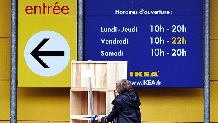 Le siège social français du groupe suédois situé dans les Yvelines a été perquisitionné de nouveau jeudi 5 juillet 2012. (PHILIPPE HUGUEN / AFP)