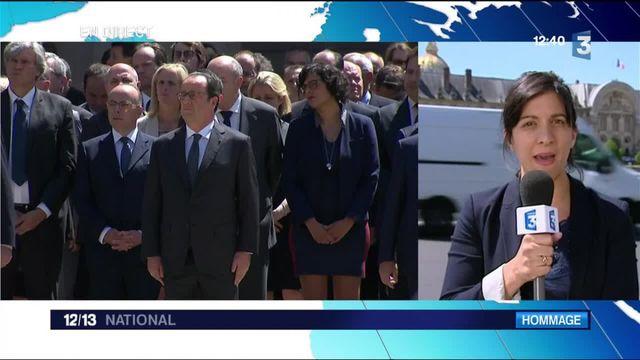 Michel Rocard : la classe politique lui a rendu hommage aux Invalides