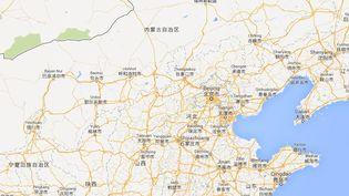 Le drame a eu lieu mardi 23 juillet 2013 dans un parking de Pékin (Chine). ( GOOGLE MAPS / FRANCETV INFO )