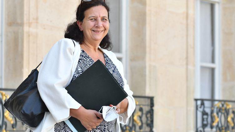 La ministre de l'Enseignement supérieur, Frédérique Vidal, à la sortie du Conseil des ministres, le 8 septembre 2021, à Paris. (DANIEL PIER / NURPHOTO / AFP)