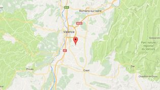 Les corps de la femme et des trois enfants ont été retrouvés mercredi 22 mars 2017 àBeaumont-les-Valence (Drôme). (GOOGLE MAPS)