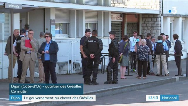 Dijon : le gouvernement au chevet des Grésilles