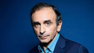 Eric Zermmour, écrivain, essayiste et journaliste francais, en octobre 2014 à Paris  (BALTEL/SIPA)