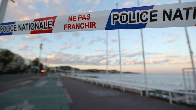 Sur la promenade des Anglais, le 15 juillet 2016, à Nice (Alpes-Maritimes).VALERY HACHE / AFP (VALERY HACHE / AFP)