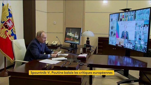 Russie : Vladimir Poutine répond à l'Union européenne sur le vaccin Spoutnik V