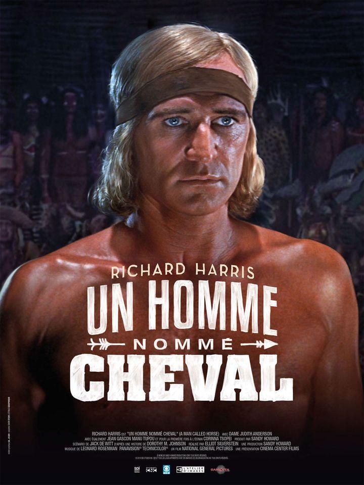 """""""Un homme nommé cheval"""" (1970) deElliot Sylverstein : la jaquette du DVD. (CARLOTTA FILMS)"""