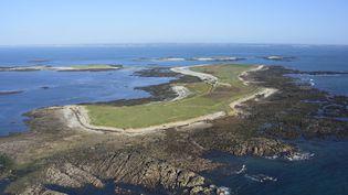 Le Conservatoire du littoral a lancé un appel à projets pour la gestion de l'île de Quéménès (Finistère) (MAXPPP)