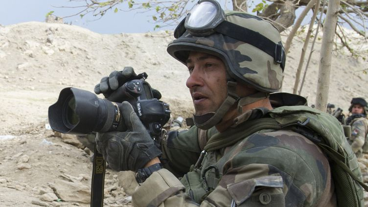 L'adjudant-chef Jean-Raphaël Drahi, lors d'un de ses déploiements en Afghanistan, en 2010. (SGC DUPONT SÉBASTIEN / ECPAD)