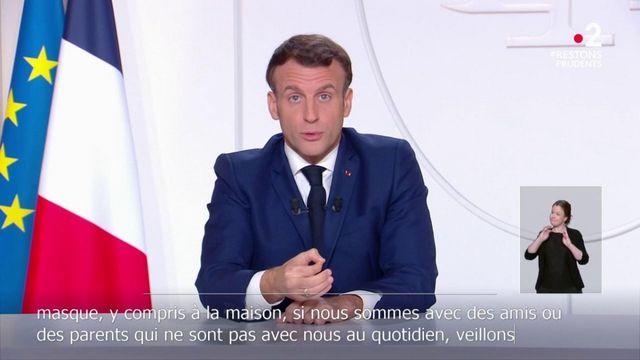 Emmanuel Macron détaille l'étape qui pourrait commencer le 20 janvier