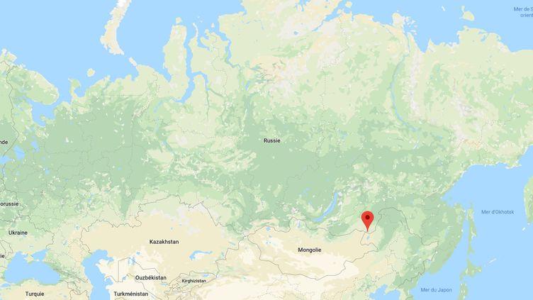 L'accident s'est produit dans la région deZabaikalsk, en Sibérie. (GOOGLE MAPS)