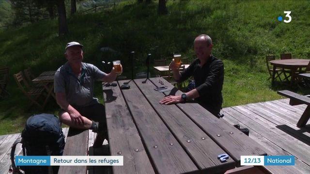 Montagne : les randonneurs réinvestissent les refuges