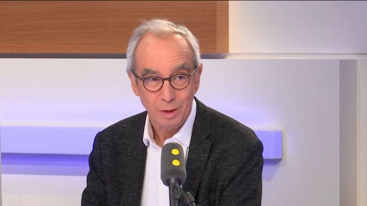 L'économiste Jean Pisani-Ferry, le 11 janvier 2019 sur franceinfo. (FRANCEINFO / RADIOFRANCE)