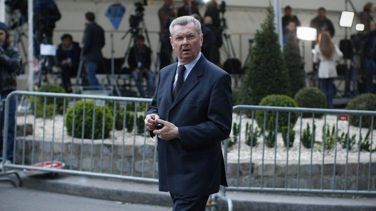 Henri de Raincourt, le 22 avril 2012, à Paris. (MAXPPP)