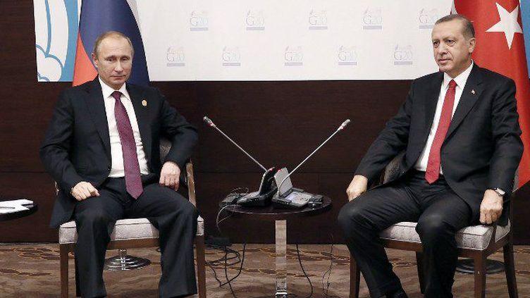 Dernière rencontre en date entre Poutine et Erdogan remonte au 16 novembre 2015 lors du sommet du G20 à Antalya en Turquie.