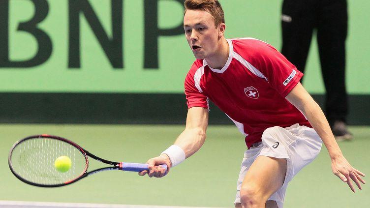 Le Suisse Adrian Bodmer (STANISLAV FILIPPOV / AFP)