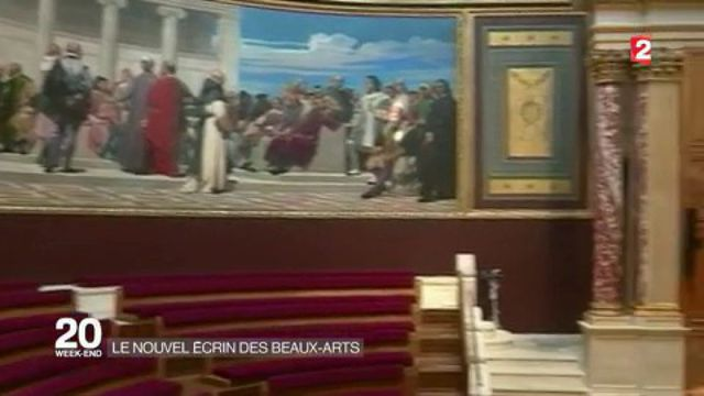 Découverte : le nouvel écrin de l'École des beaux-arts de Paris