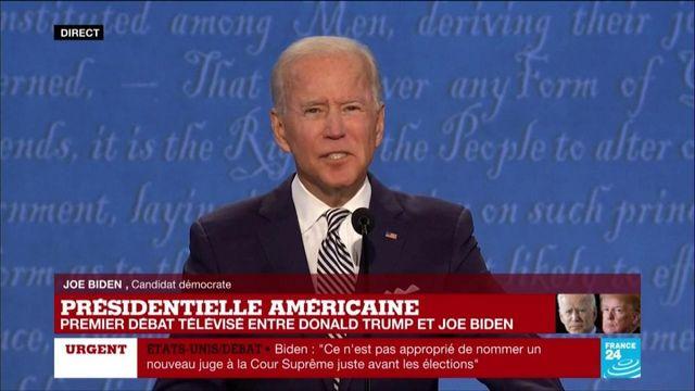 """Joe Biden accuse Donald Trump de n'avoir """"aucun plan"""" face à la pandémie de Covid-19"""