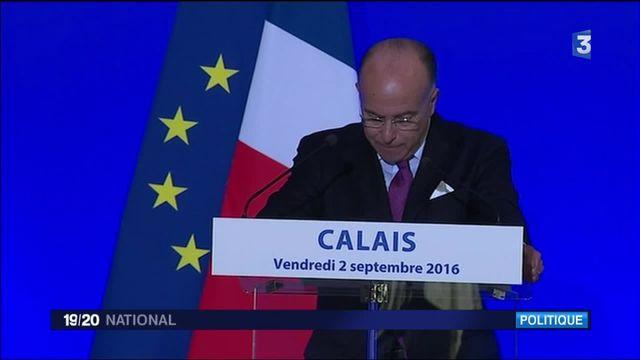 """Calais : Bernard Cazeneuve promet le démantèlement de la """"jungle"""""""