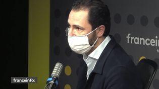 "Franck Calderon, producteur de ""La traque"" sur TF1. (CAPTURE D'ECRAN DAILYMOTION)"