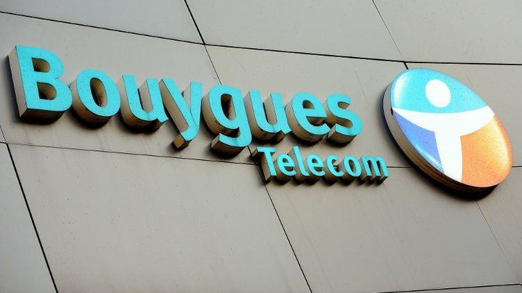 Les locaux de Bouygues Telecom à Dunkerque (Nord), le 19 décembre 2013. (PHILIPPE HUGUEN / AFP)