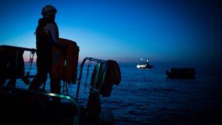 SOS Méditerranée estime à 1 700 le nombre de personnes décédées en mer depuis le début de l'année. (MAUD VEITH / SOS MEDITERRANEE)