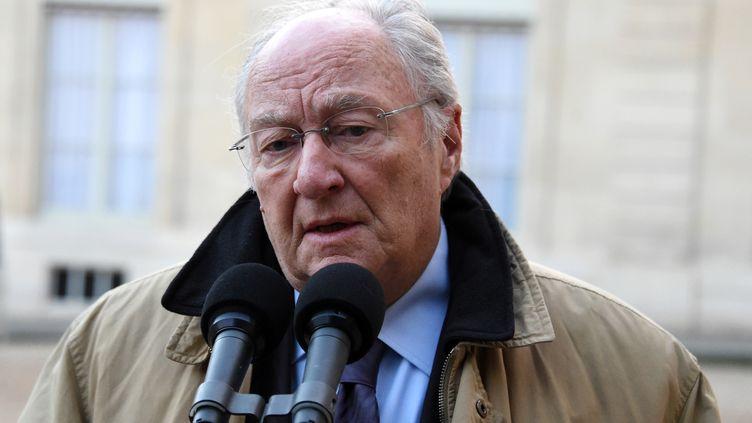 Roger Cukierman, le président du Crif, le 11 janvier 2015 à Paris. (DOMINIQUE FAGET / AFP)