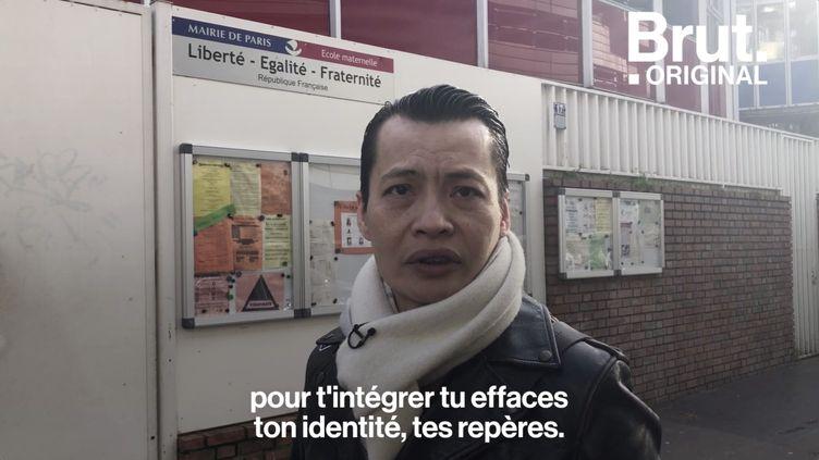 VIDEO. Du génocide cambodgien à son arrivée à Paris… Il raconte son premier jour en France (BRUT)